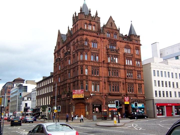O Leme - Imagens da Irlanda - Belfast: Donegall Square