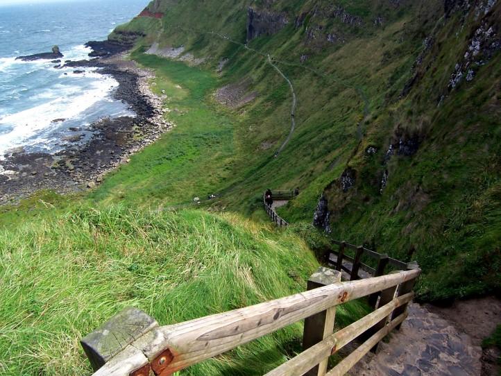Irlanda do norte - giant's causeway (calçada do gigante)