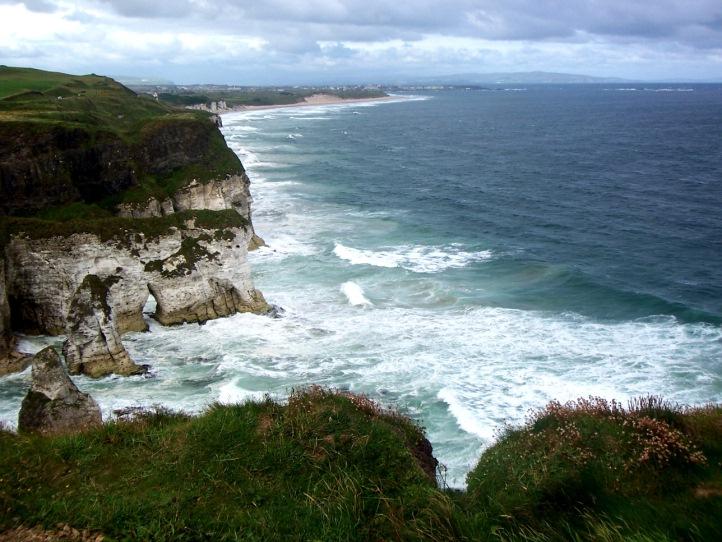 leme imagens da irlanda irlanda do norte magheracross white cliffs ...